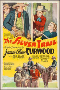 """The Silver Trail (Reliable, 1937). One Sheet (27"""" X 41""""). Western"""