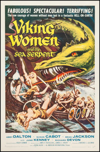 "Viking Women and the Sea Serpent (American International, 1957). One Sheet (26.75"" X 41.25""). Fantasy"