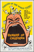 "Movie Posters:Comedy, Beware of Children (American International, 1960). One Sheet (27"" X41""). Comedy.. ..."