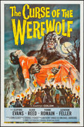 """Movie Posters:Horror, The Curse of the Werewolf (Universal International, 1961). OneSheet (27"""" X 41""""). Horror.. ..."""