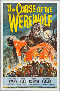 "The Curse of the Werewolf (Universal International, 1961). One Sheet (27"" X 41""). Horror"