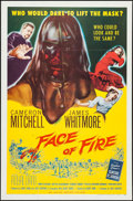 "Movie Posters:Drama, Face of Fire (Allied Artists, 1959). One Sheet (27"" X 41""). Drama....."