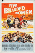 "Movie Posters:War, Five Branded Women & Other Lot (Paramount, 1960). One Sheets(2) (27"" X 41""). War.. ... (Total: 2 Items)"