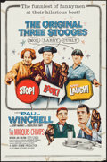 """Movie Posters:Comedy, Stop! Look! and Laugh! (Columbia, 1960). One Sheet (27"""" X 41"""").Comedy.. ..."""