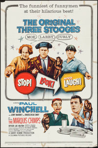 "Stop! Look! and Laugh! (Columbia, 1960). One Sheet (27"" X 41""). Comedy"