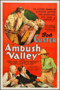 """Movie Posters:Western, Ambush Valley (Reliable, 1936). One Sheet (27"""" X 41"""") Flat Folded. Western.. ..."""