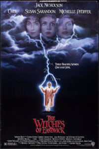 """The Witches of Eastwick & Others Lot (Warner Brothers, 1987). One Sheets (6) (27"""" X 40"""", & 27"""" X..."""