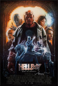 "Movie Posters:Fantasy, Hellboy (Columbia, 2004). Autographed One Sheet (26.75"" X 39.5"") SSAdvance. Fantasy.. ..."