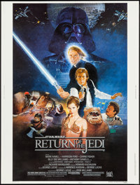 "Return of the Jedi (20th Century Fox, 1983). Poster (30"" X 40"") Style B. Science Fiction"