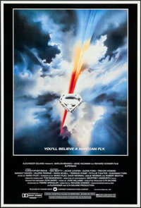 "Superman the Movie (Warner Brothers, 1978). One Sheet (27"" X 41""). Action"