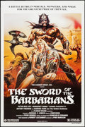 "Movie Posters:Adventure, The Sword of the Barbarians & Other Lot (Cannon, 1983). OneSheet & Video One Sheet (27"" X 41""). Adventure.. ... (Total: 2Items)"