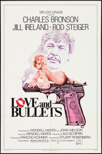 """Love and Bullets & Others Lot (Associated Film Releasing, 1979). One Sheets (53) (27"""" X 41""""), Lobby Card S..."""