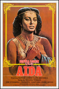"Aida (21st Century Distribution, R-1982). One Sheet (27"" X 41""). Musical"