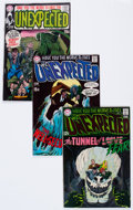 Silver Age (1956-1969):Horror, Unexpected Group of (DC, 1969-72) Condition: Average VG/FN....(Total: 67 Comic Books)