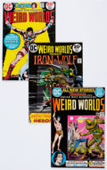Bronze Age (1970-1979):Miscellaneous, Weird Worlds #1-10 Complete Run Group of 52 (DC, 1972-74)Condition: Average VG.... (Total: 52 Comic Books)