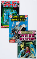 Bronze Age (1970-1979):Horror, Weird Mystery Tales Group of 35 (DC, 1972-75) Condition: AverageFN.... (Total: 35 Comic Books)