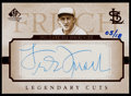 Baseball Cards:Singles (1970-Now), 2005 SP Legendary Cuts Frankie Frisch Autograph LC-FF....