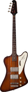 Musical Instruments:Bass Guitars, 1964 Gibson Thunderbird IV Sunburst Electric Bass Guitar, Serial # 160503....