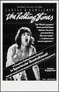 """Movie Posters:Rock and Roll, Ladies and Gentlemen: The Rolling Stones (Dragon Aire, 1973). OneSheet (24.25"""" X 38"""") QuadraSound Style. Rock and Roll.. ..."""