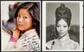 """Movie Posters:Miscellaneous, Lydia Lei & Other Lot (1979). Autographed Color Photo &Autographed Restrike Photo (7.75"""" X 10"""", 8"""" X 10""""). Miscellaneous..... (Total: 2 Items)"""