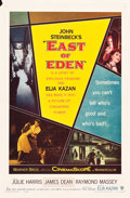 "Movie Posters:Drama, East of Eden (Warner Brothers, 1955). One Sheet (27"" X 41"").. ..."
