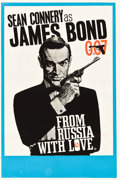"Movie Posters:James Bond, From Russia with Love (United Artists, 1964). British Double Crown(20"" X 30"") Style B.. ..."
