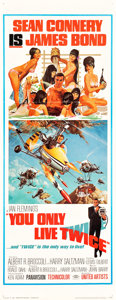 """Movie Posters:James Bond, You Only Live Twice (United Artists, 1967). Insert (14"""" X 36"""")....."""