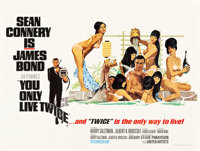 "You Only Live Twice (United Artists, 1967). British Quad (30"" X 40"") Style C"