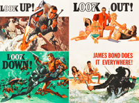 "Thunderball (United Artists, 1965). British Quad (30"" X 40"") Advance British Quad/Quad Crown Style A"