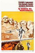 "Movie Posters:Hitchcock, North by Northwest (MGM, R-1966). One Sheet (27"" X 41"").. ..."