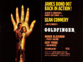 "Movie Posters:James Bond, Goldfinger (United Artists, 1964). British Quad (30"" X 40"") StyleB.. ..."