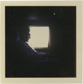 Music Memorabilia:Photos, Buddy Holly Photo. A very beautiful color snapshot of Hollysilhouetted against a window on a plane trip to Australia for a...