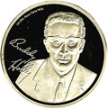 Music Memorabilia:Memorabilia, Buddy Holly Commemorative Silver Coin. Minted in Germany, this commemorative coin is possibly silver plated and bears Holly...