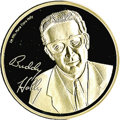 Music Memorabilia:Memorabilia, Buddy Holly Commemorative Silver Coin. Minted in Germany, this commemorative coin is possibly silver plated and bears Holly'...
