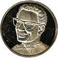 Music Memorabilia:Memorabilia, Buddy Holly Commemorative Silver Coin. This commemorative coin isone troy ounce of .999 silver and with a close-up three-q...