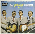 "Music Memorabilia:Recordings, ""The 'Chirping' Crickets"" Blank Back Cover EP Brunswick 71036(1957). This version is rarer than the one with a printed back..."