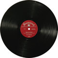 """Music Memorabilia:Recordings, The Crickets """"That'll Be The Day""""/ """"I'm Looking for Someone toLove"""" 78 Brunswick 55009. This was the single that really kic..."""