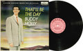 "Music Memorabilia:Recordings, Buddy Holly ""That'll Be The Day"" Pink Label Promo Mono LP Decca8707 (1958). Buddy Holly's first major label deal was with D..."