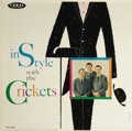 "Music Memorabilia:Recordings, ""In Style With The Crickets"" Blue Label Promo Mono LP Coral 57320 (1960). Listening to this great album, you'll wonder why t..."