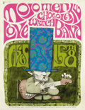 "Music Memorabilia:Posters, Mojo Men/Love/Chocolate Watch Band ""Big Abe's Birthday Party""Concert Poster (Santa Clara County Fairgrounds, 1967) Get trip..."