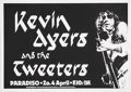 Music Memorabilia:Posters, Kevin Ayers Paradiso Concert Poster (1982) Former Soft Machineguitarist and singer Kevin Ayers recorded a string of solo al...