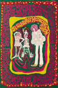 """Music Memorabilia:Posters, Big Brother and the Holding Company """"Dr. Sunday's Medicine Show""""Benefit Concert Poster (1967) For this show, held in suppor..."""