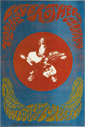 Music Memorabilia:Posters, Big Brother and the Holding Company Fillmore Concert Poster BG115(Bill Graham, 1968) It was all about to explode for Janis ...