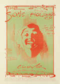 Music Memorabilia:Posters, Big Brother and the Holding Company Concert Poster (Pepperland,1971) Another great example of Mark Twain Behrens work. Thi...