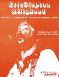 "Music Memorabilia:Posters, Eric Clapton Blaisdell Arena Concert Poster (1977) That ""Slowhand""guitar god travelled all the way to beautiful Hawaii for ..."