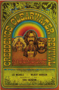 Music Memorabilia:Posters, Creedence Clearwater Revival Vancouver Civic Coliseum ConcertPoster (1970). If the chooglin' rhythms of CCR are your cup of...