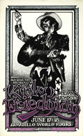 "Music Memorabilia:Posters, Kinky Friedman and the Texas Jewboys Armadillo Concert Poster(1975) There's plenty to say about the amazing Richard F. ""Kin..."