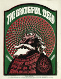 Music Memorabilia:Posters, Grateful Dead Avalon Concert Handbill FD40 (Family Dog, 1966). Avery popular image from the Family Dog series. This art has...