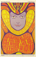 Music Memorabilia:Posters, Grateful Dead Fillmore Concert Poster #BG41-2 (Bill Graham, 1966)An interesting line-up on this poster. It features the jam...