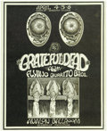 Music Memorabilia:Posters, Grateful Dead Avalon Concert Poster (Soundproof, 1969). A tough tofind poster from the Avalon Ballroom. Soundproof Product...